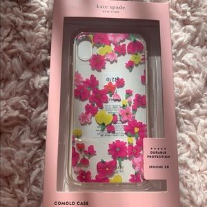 Kate Spade Flower IPhone XR case